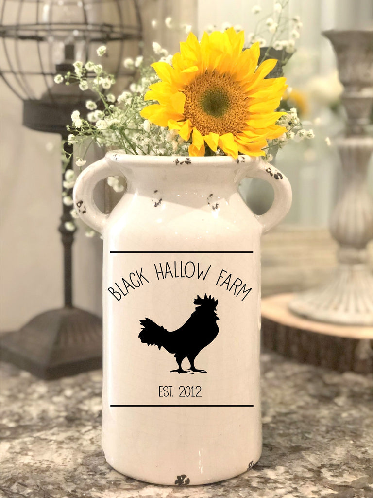 Farm Inspired Farmhouse Milk Jug