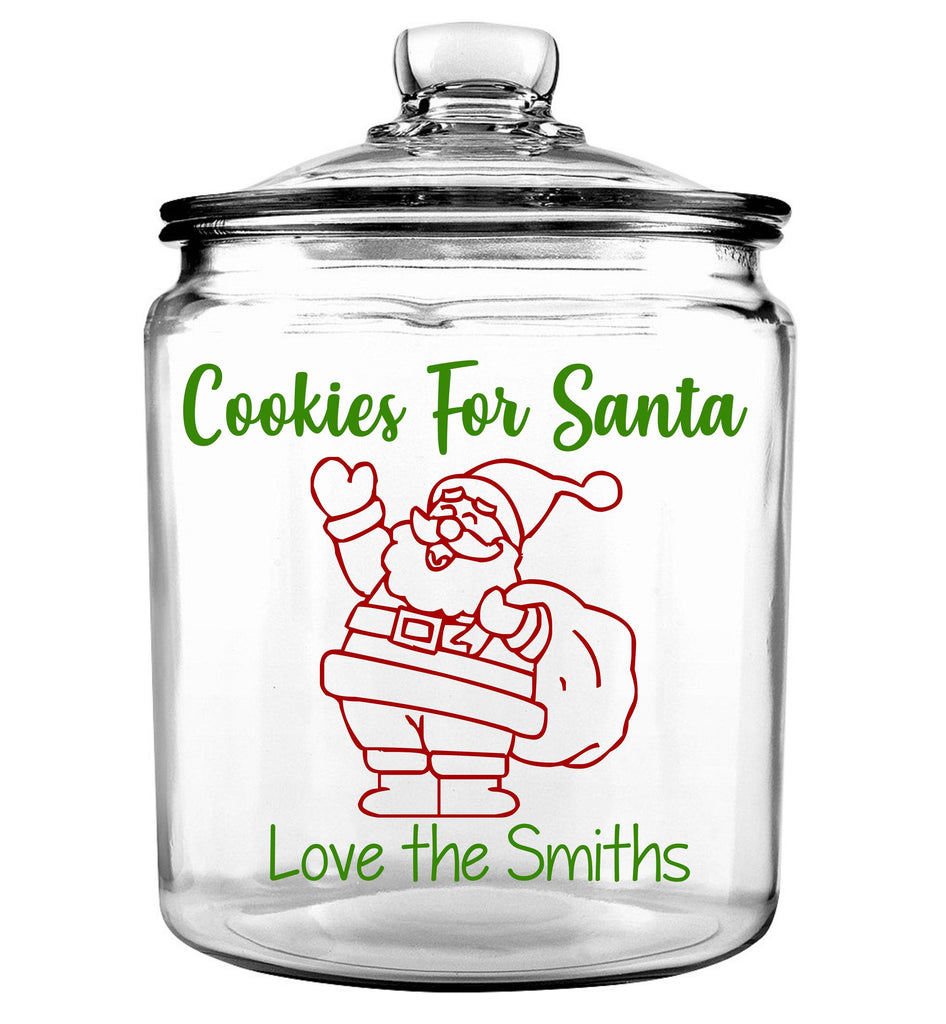 Cookies For Santa Cookie Jar