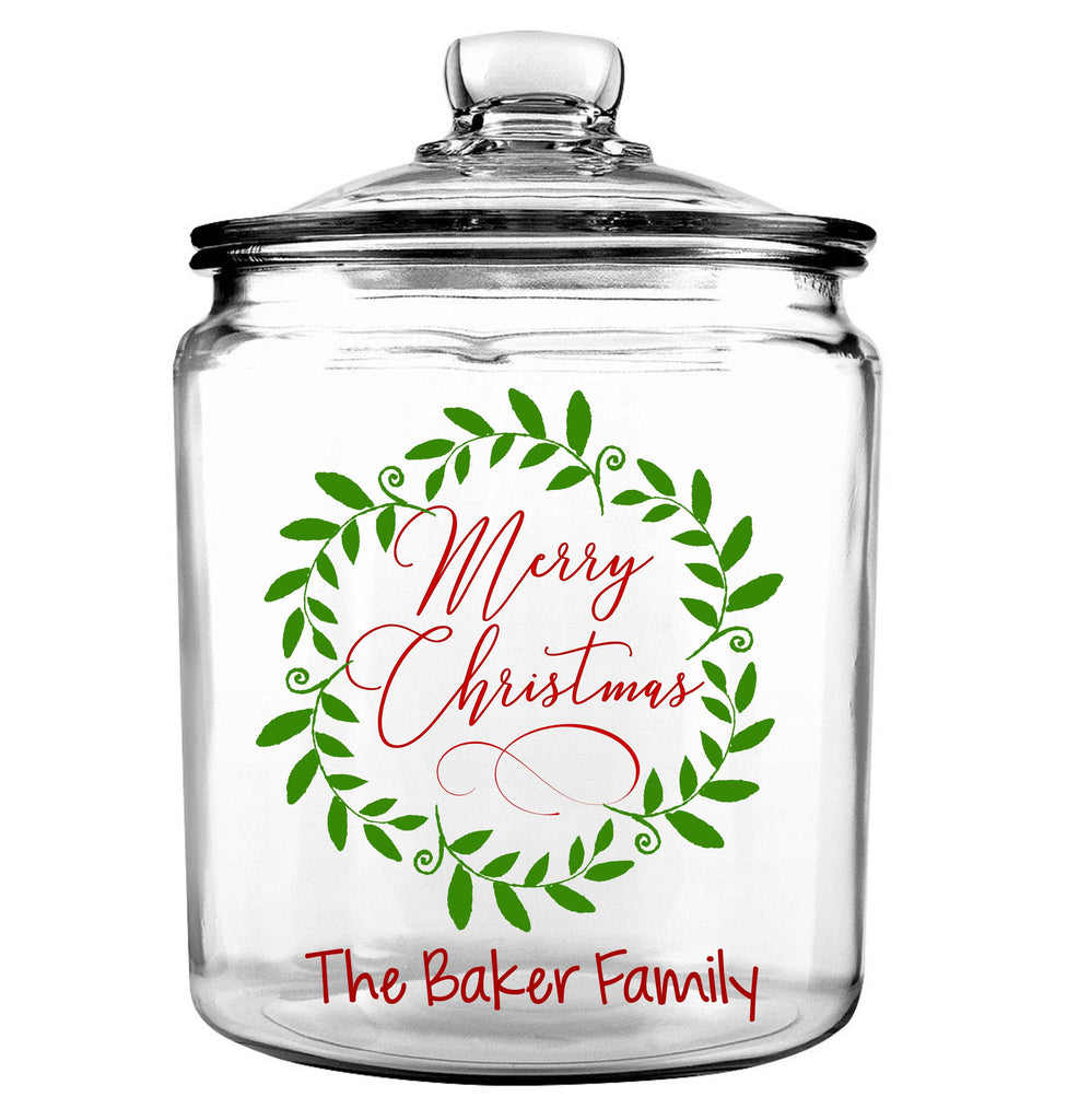 Merry Christmas Cookie Jar