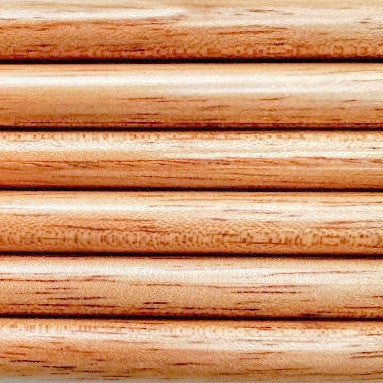 Spanish Cedar - 6 Shafts - Soft Hardwood Competition Arrow Shafts - 9.30mm Diameter - Spine 45-50# - 320-340 grains