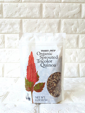 Organic Sprouted Tricolor Quinoa