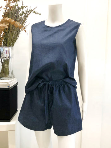 BEATRICE Top and Shorts Set