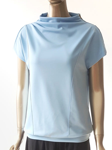 Jocelyn loose fit top in neoprene