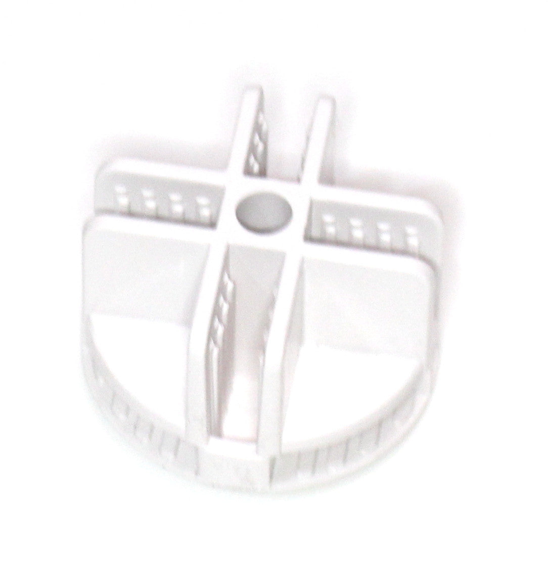 White Wire Cube Plastic Connectors snap mesh organizer grid Curved ...
