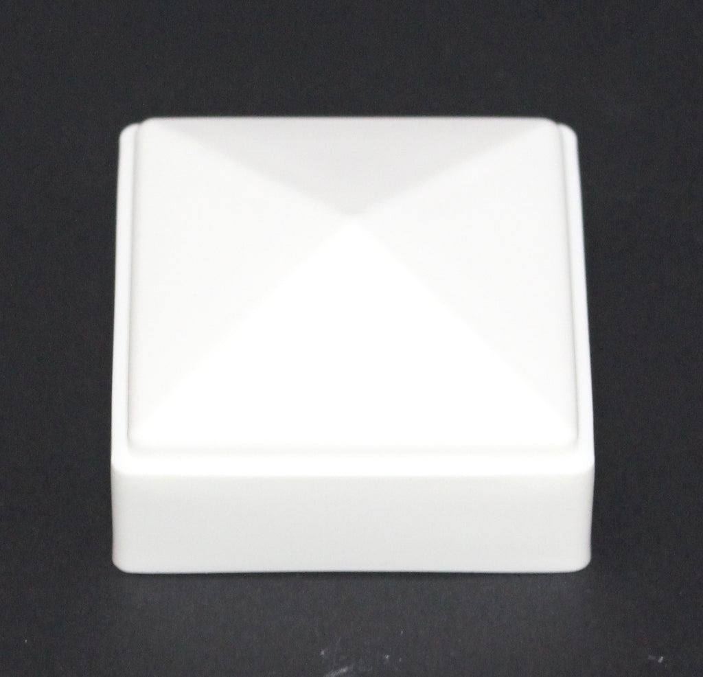 2 x 2 fence post cap white 2x2 for metal plastic or vinyl fence 2 x 2 fence post cap white 2x2 for metal plastic or vinyl fence free shipping baanklon Image collections