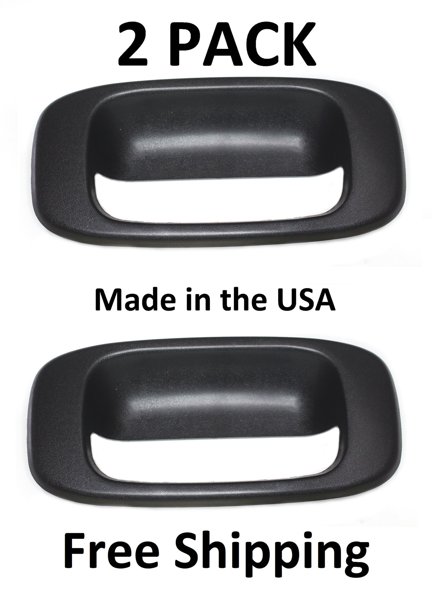 APA Replacement For 1988-2002 C//K 1500 2500 3500 Pickup Truck Tailgate Handle and Bezel Set 15991785 15991786 GM1915101