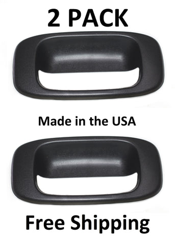 99-05 Chevy Chevrolet Silverado Pickup Tailgate Handle Truck, Bezel C580706 15046512 2PACK
