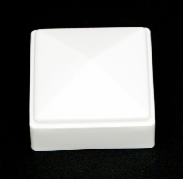 2 X 2 Fence Post Cap White 2x2 For Metal Plastic Or Vinyl