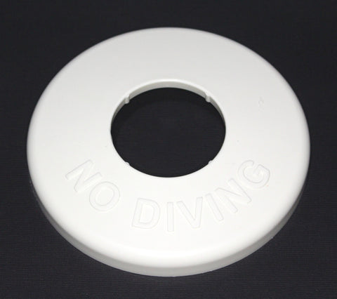 Pool & Spa Ladder, Hand Rail Escutcheon Plate Cover Replace Hayward SP1041 NO DIVING