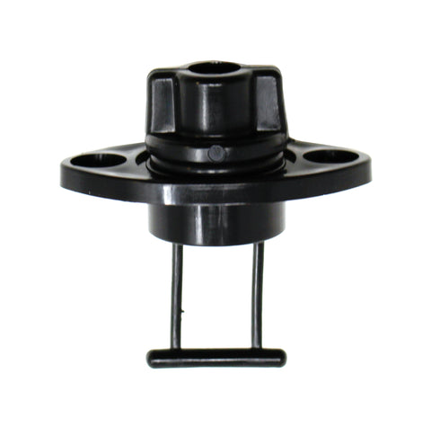 Universal Kayak Plastic Drain Plug and Base Assembly Kit for Pelican Kayaks / Lifetime Kayaks / Wilderness System