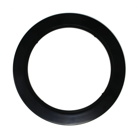 "Plastic Black Light Trim Ring Recessed Can 6"" Inch Over Size Oversized Lighting Fixture (OD 7 7/8 Inches) (ID 5 7/8 Inches) NO MOUNTING Hardware, Springs, OR Baffle Included"
