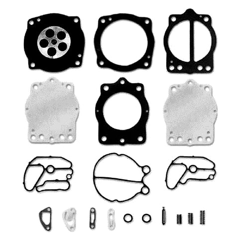 JSP Brand Keihin Carb Carburetor Kit (Compatible With Kawasaki, Fits MANY 650 750 900 1100 / Compatible With Polaris 700 900 1050 1200 Watercraft