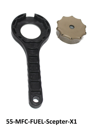 MFC Cap Wrench for Scepter MFC 10L & 20L Military Fuel Gas Caps Gas can Wrench