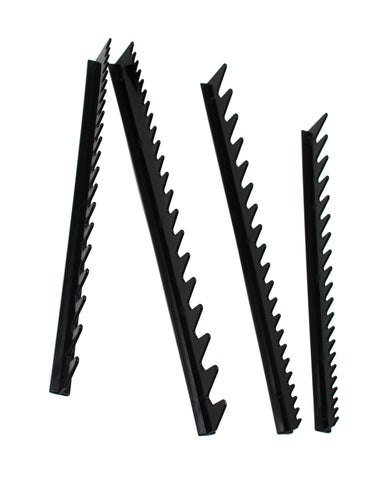 JSP Wrench Rail Set Holds 40 Tools Can Be Cut Hand Tool Storage Wrench Organizer Black