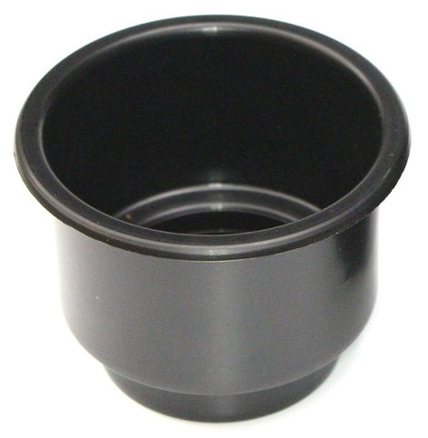 3 5/8 Black Jumbo Cup Recessed Drop in for Boat RV Car Truck Pool Table Sofa Inserts Large Size