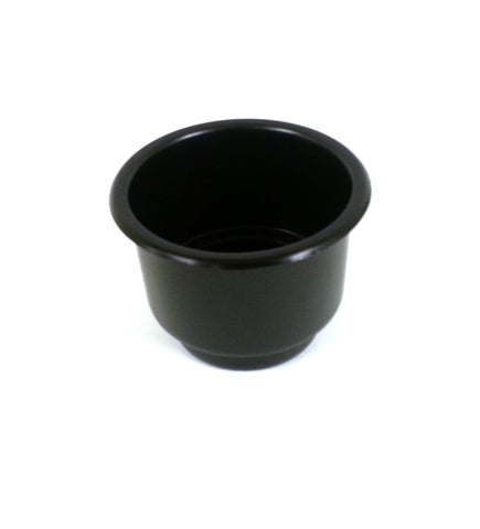 3 5/8 Black Jumbo Cup Boat RV Car Truck Poker Pool Table Sofa Inserts Large Size Free Shipping