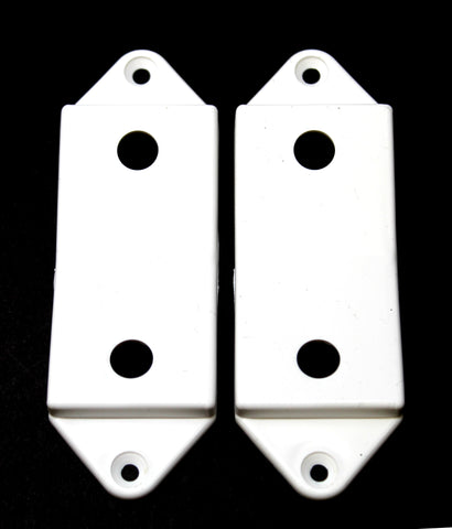 White Rocker Switch Plate Cover Guard Keeps Light Switch ON or Off Protects Your Lights or Circuits from Accidentally Being Turned On or Off