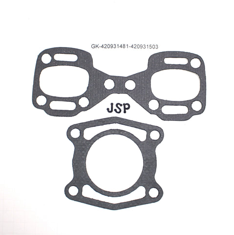 Seadoo 787 800 Exhaust Manifold Gasket Kit-2 EXHAUST GASKETS. MANIFOLD AND HEAD PIPE