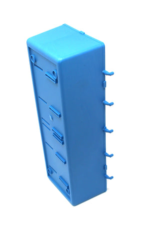 Heavy Duty Blue Peg Board Storage Bin - Parts Storage Bins Hooks to Peg Tool Board Workbench Craft