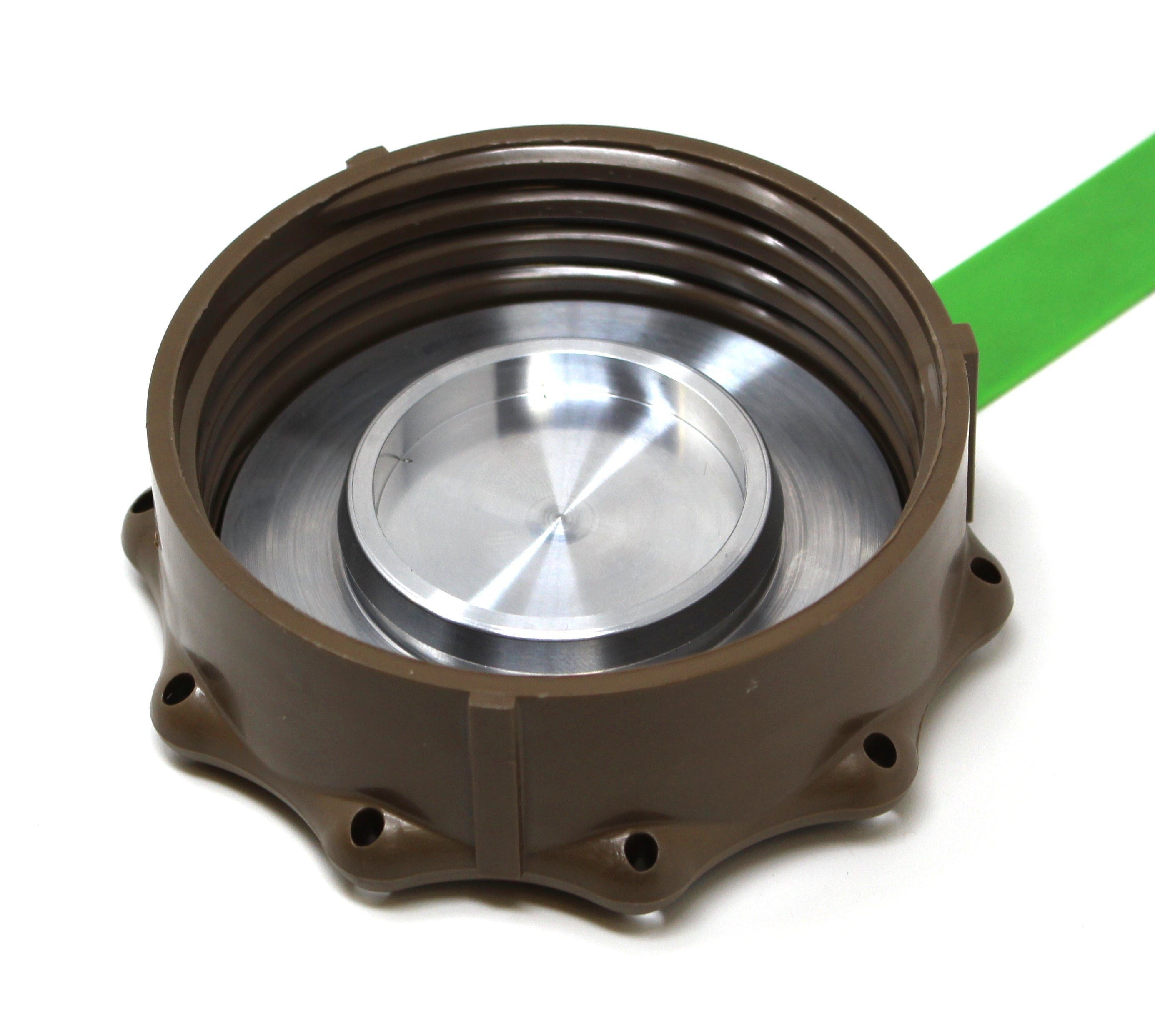 Military Fuel Can Aluminum Flange Compatible with Scepter MFC