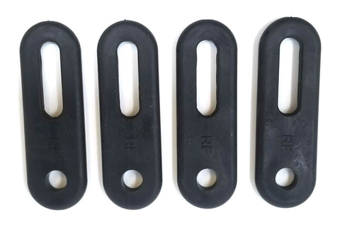 Aftermarket Rubber Door Strap Body Latch Kit for Yamaha UTV 5B4-F2929-00-00 / 94053-115-000
