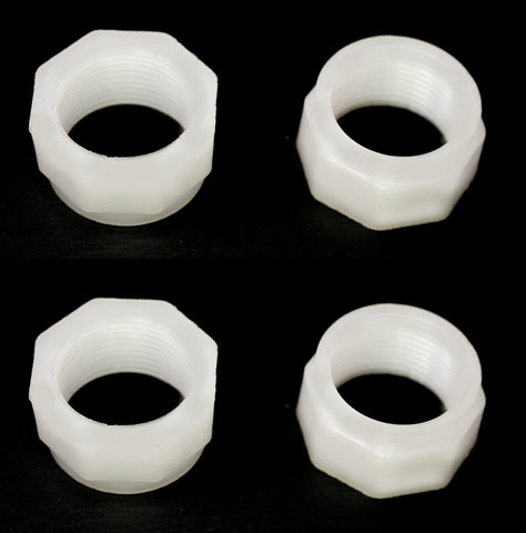 2 or 4 Pack Feed Hose Nut Replacement For Polaris Cleaners 180 280 380 480 D15 D-15 25563-115-00