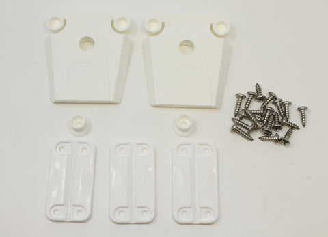 Aftermarket Igloo Cooler Replacement (2) Latch, (3) Hinges & Screw Kit (Part#24013 & 24012)