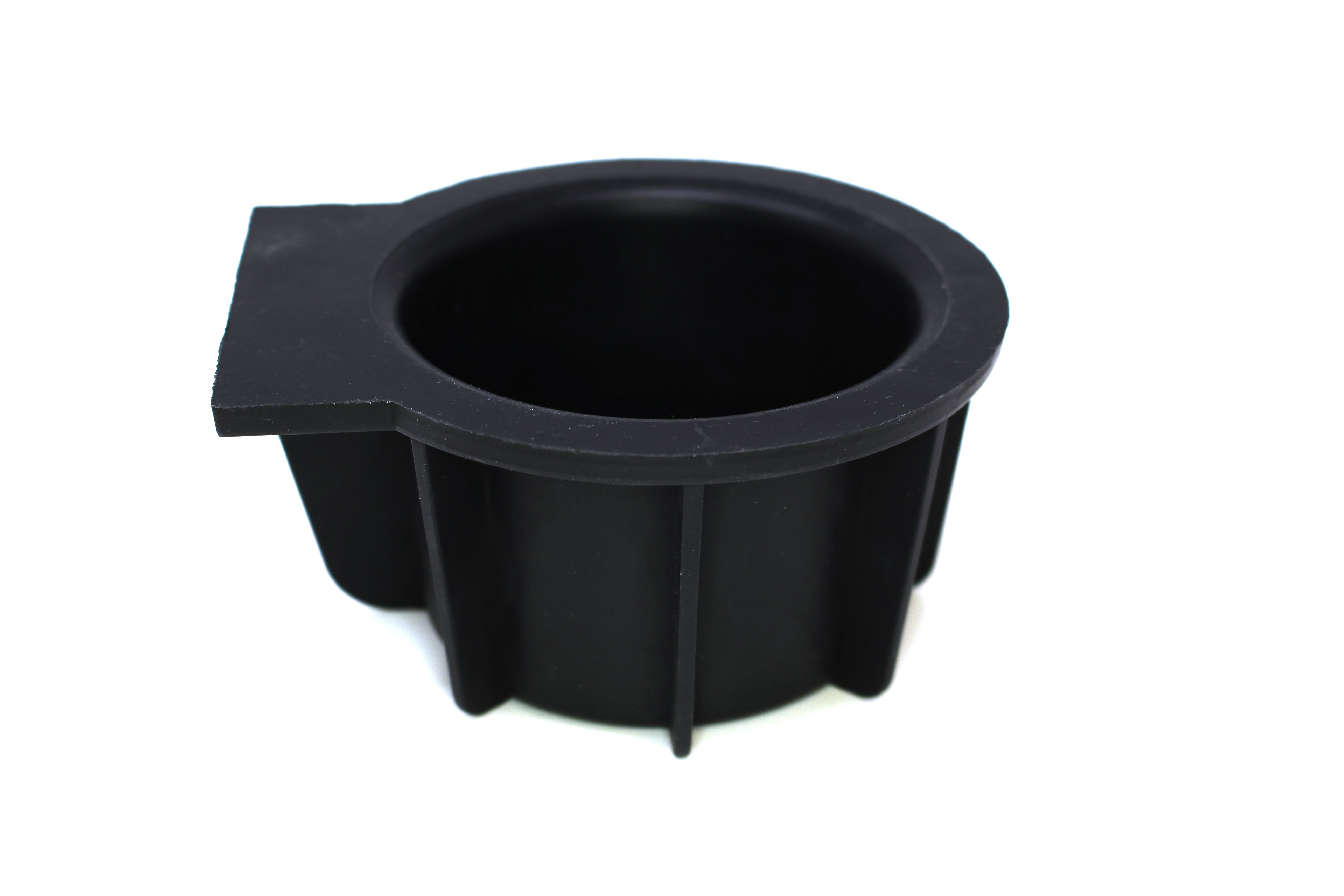 Front Center Console Cup Holder Inserts Rubber For Ford F-150 Expedition Navigator Pack of 2