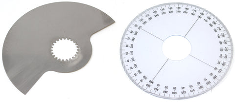 SeaDoo 159 Degree Rotary Valve Plate and Timing Wheel Set