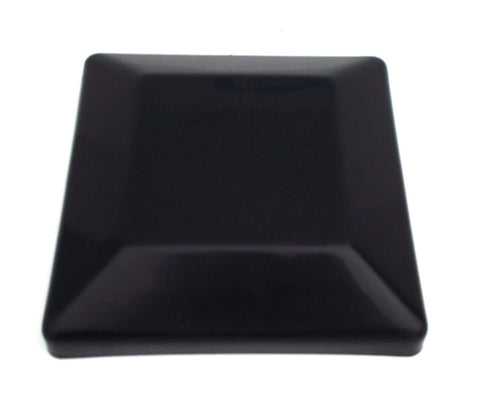 "6x6 Plastic Fence Post Caps Black (5-5/8"" x 5-5/8"")"
