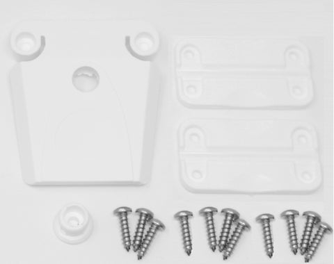 Aftermarket Igloo Cooler Replacement (1) Latch, (2) Hinges & Screw Kit (Part#24013 & 24012)