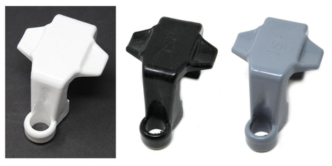 Plastic Pontoon Boat Square Rail Fender Adjuster Hanger Clip - Pick a Pack - Color & Quantity