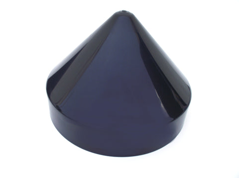 "BLACK Cone Style from 7"" to 12"" Piling Marine Dock Boat Pylon Post Head Cone Cover"