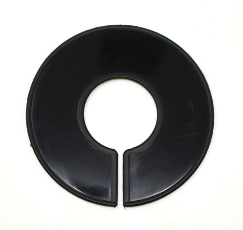 Black Round Plastic Blank Rack Size Dividers - Multi-Pack