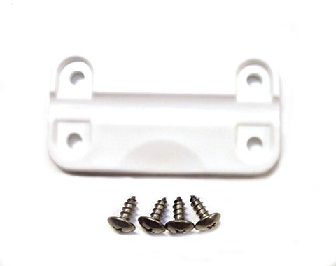 Igloo Cooler Replacement Plastic Hinge(1)+(4) Stainless Screws Part # 24012 Repair Kit (ONE HINGE ONLY)
