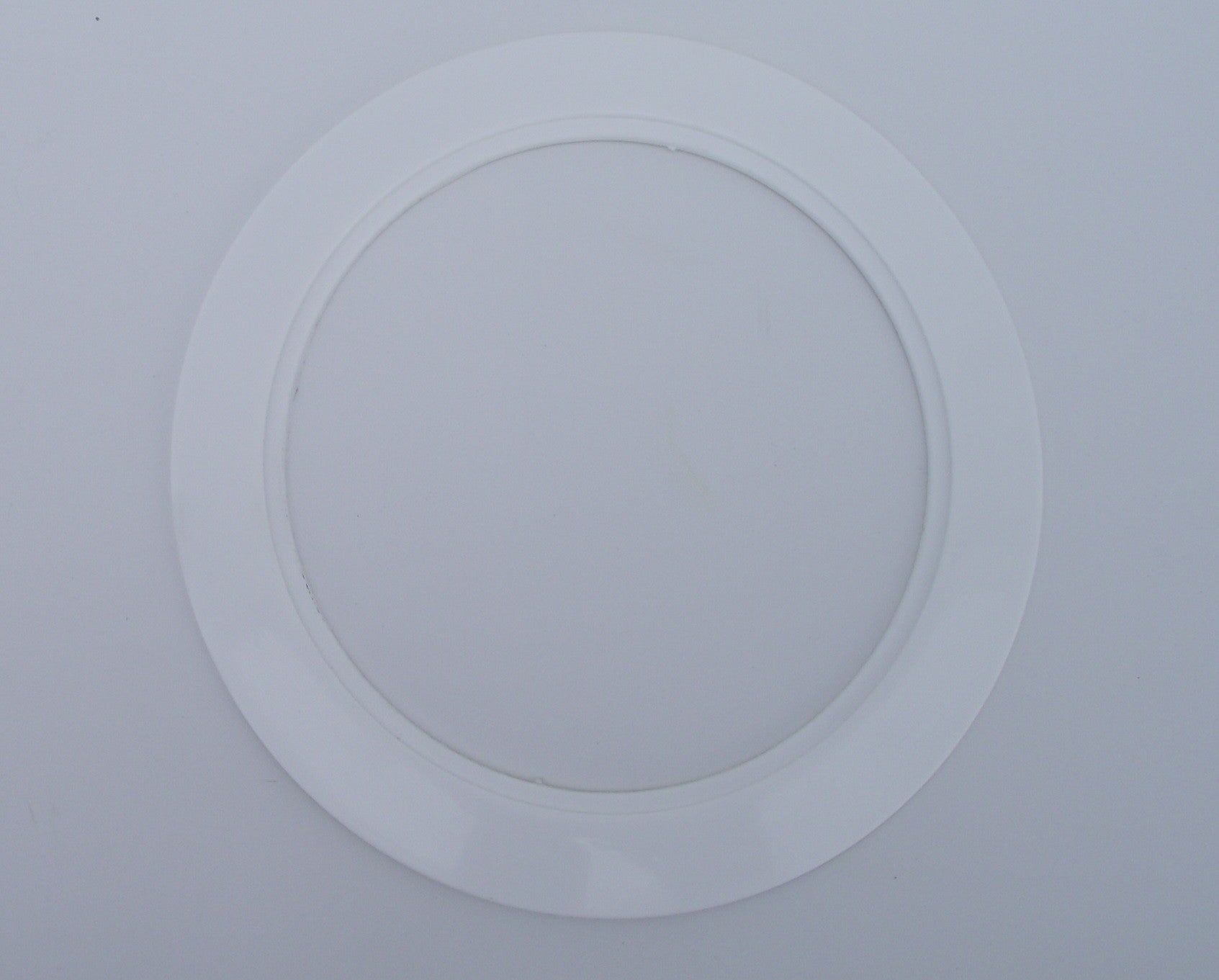 White Light Trim Ring Recessed Can 6 Inch Regular Sized Lighting Fixt Jsp Manufacturing