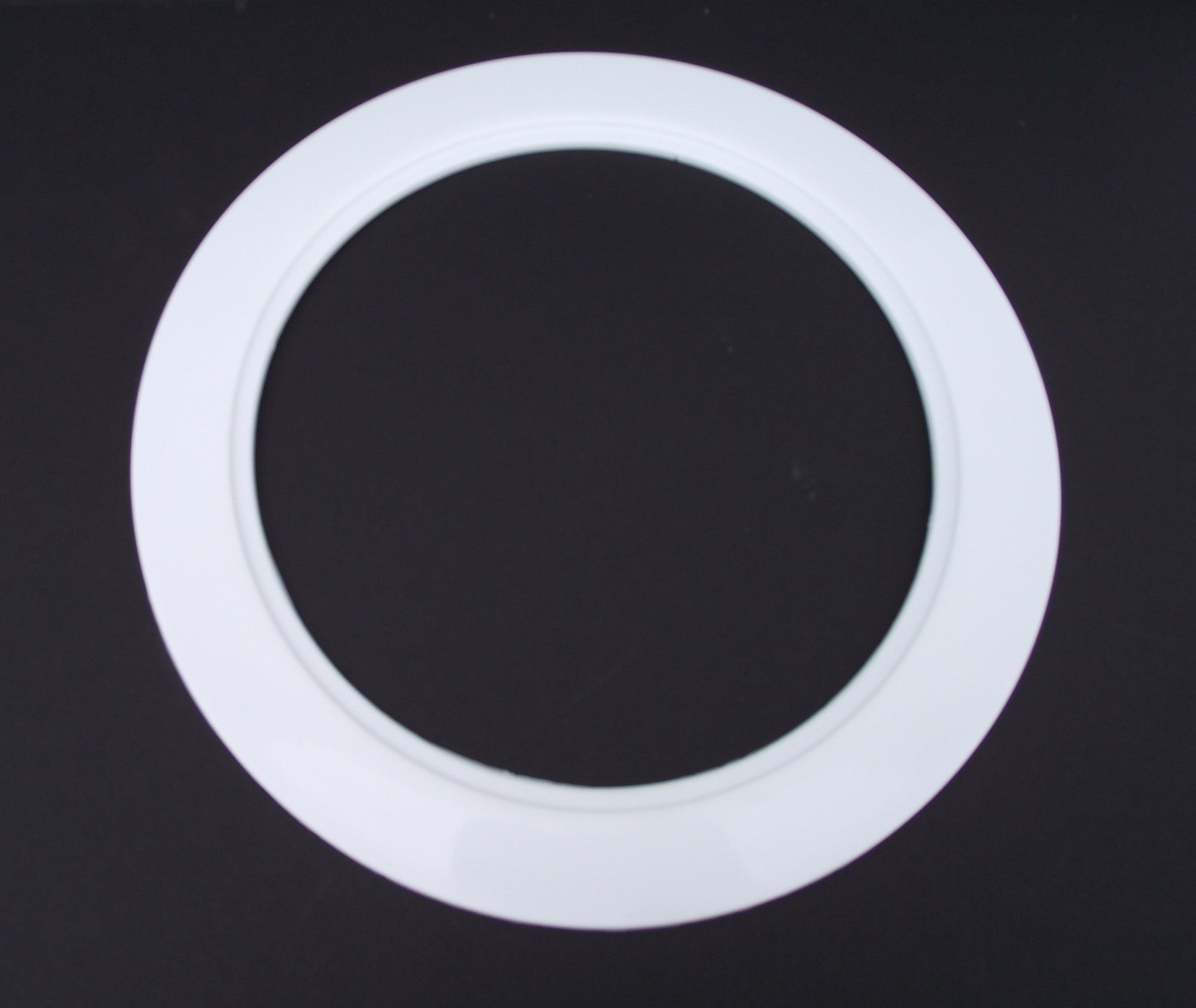 10, White Trim Ring for 6 Recessed Light Can Fixtures