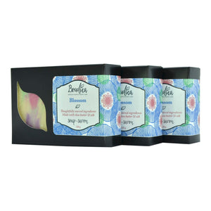Blossom soap, gift packaging - Boudica Body Care