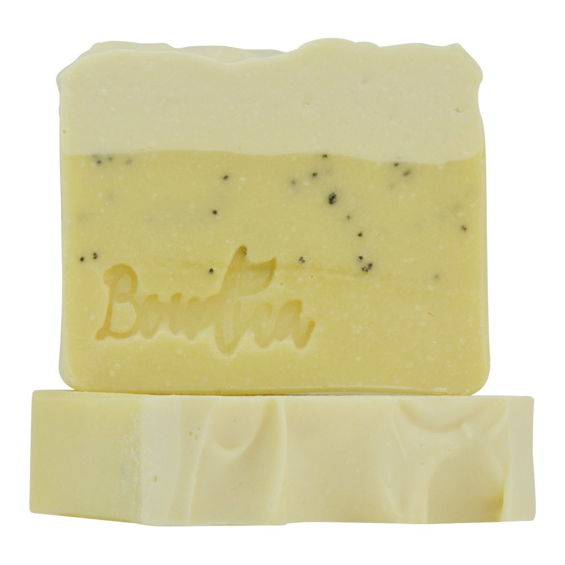Lemon Blooms soap, gift packaging - Boudica Body Care