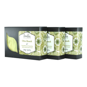Olive Branch soap, gift packaging - Boudica Body Care