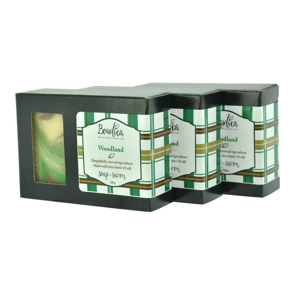 Woodlands soap - Boudica Body Care