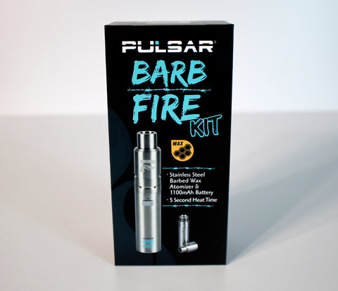 Pulsar Barb Fire Kit - Stainless Steel Wax Vape
