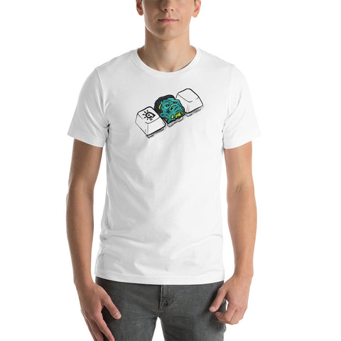 Franky Dank on the keys t-shirt