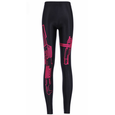 Red Gun Machinery Leggings