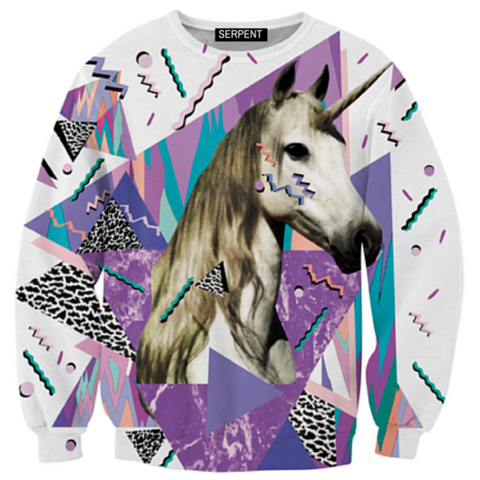 Acid Waves Unicorn Sweatshirt