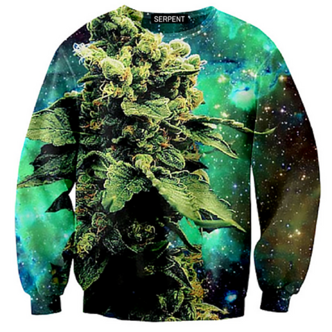 Green Weed Sweatshirt