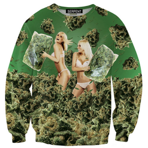 Weed Fight Sweatshirt