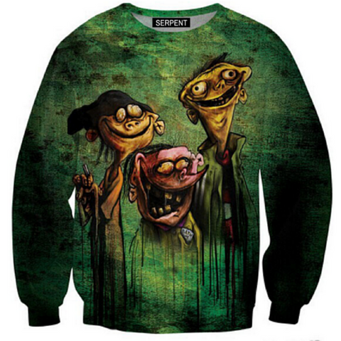 Ed, Edd N Eddy On Bathsalts Sweatshirt