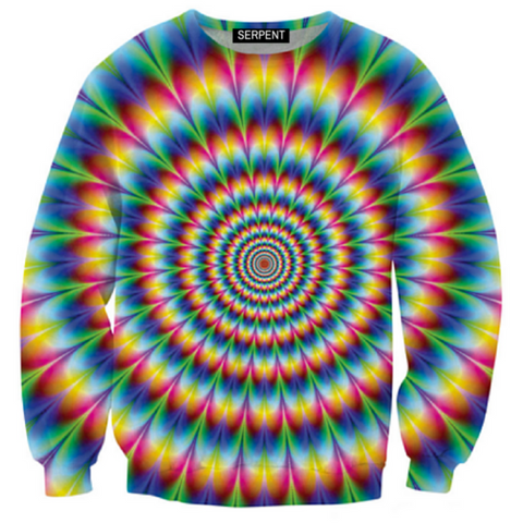 Retro Illusion Sweatshirt