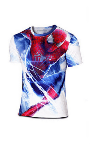 Flying Spiderman T-Shirt